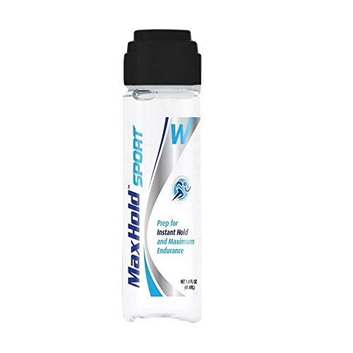 MaxHold Sport Skin-Prep | verlängert die Klebewirkung von Bondings für Perücken, Toupets und Haarteilen bei vermehrten Schwitzen - 41,2ml (1.4oz)