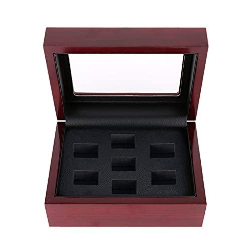 YMHM Caja de Joyería Joyería Collar de Perlas Pulsera Organizador de Almacenamiento Caja de Madera Caja de Regalo Caja de Almacenamiento Vitrina Decorativa,F