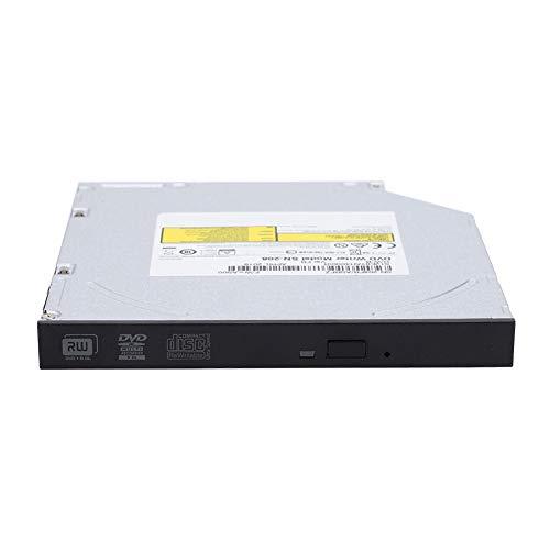 Unidad óptica interna, unidad de DVD para computadora portátil, grabadora de DVD-RW CD DVD RW Rom Burner, reemplazo de la computadora portátil Carga de la bandeja de PC delgada, dispositivo de unidad