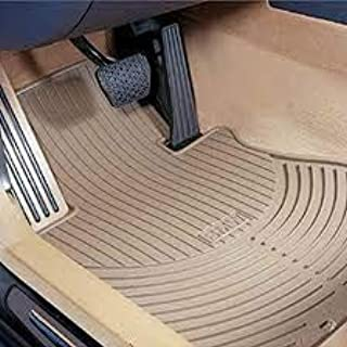 BMW 5 Series F10 Genuine Factory OEM 51472153726-51472153890 BEIGE (black pictured) Front and Rear All-Season Floor Mats 2010-07/2013 (complete set of 4 mats)