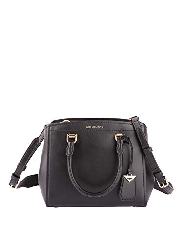 "100% Genuine Leather, Silver-Tone Hardware 15""W X 10""H X 4.5""D Handle Drop: 4.5"", Adjustable Strap: 18""-20"" Interior Details: Back Zip Pocket, Back Slip Pocket, Front Zip Pocket, Front Slip Pocket Exterior Details: Back Slip Pocket"