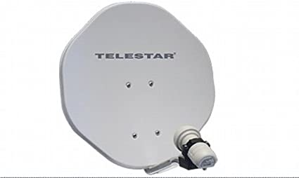 Telestar Alurapid 45 - Antena parabólica con LNB (45 cm ...