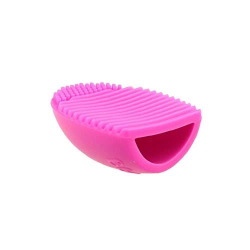 1 Pc Pinceaux Cleaner Lavage Des Oufs Outil De Nettoyage En Silicone Scrubber Cosmétique Fondation Brosse De Nettoyage