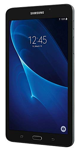 Samsung Galaxy Tab A 7.0'' Touchscreen (1280x800) Wi-Fi Tablet, Quad-Core 1.3GHz Processor, 1.5GB RAM, 8GB Memory, Dual Cameras, Bluetooth, Up to 11 hrs Battery, 64GB MicroSD Card, Android OS