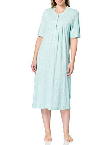 Schiesser Damen 1/2 Arm, 110cm Nachthemd, Mint, 38