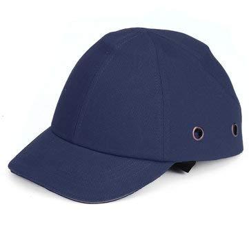 Viviance ZHVIVY Half Face Helm Baseball Style Schutzhelm Vent Coole Schutzhülle Sicherheit Arbeitskleidung - Dunkelblau