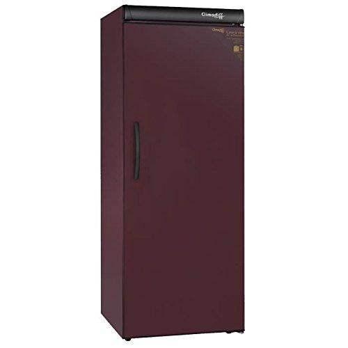 Climadiff Cli-CVP215 - refroidisseurs à vin (Autonome, Bourgogne, Rouge, 0-32 °C, A, Noir, Bois)