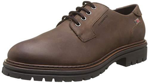Stonefly Alex Hdry Nubuk, Zapatos de Cordones Derby para Hombre, Marrón (Fern Brown 410), 43 EU