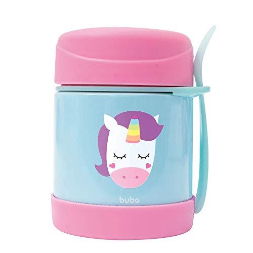 Pote Termico Animal Fun - Unicornio, Buba, Colorido
