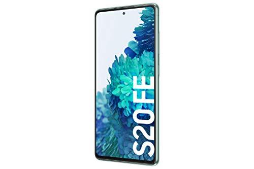 Samsung Galaxy S20 FE 4G - Smartphone Android Libre, 128 GB, Color Verde [Versión española]