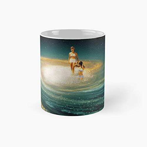 Infiniti Pool Collage Classic Mug Best Gift Funny Coffee Mugs 11 Oz