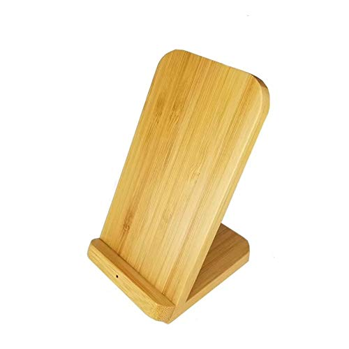 N/A Smart-lader Vertical Bamboo draadloze oplader voor telefoon