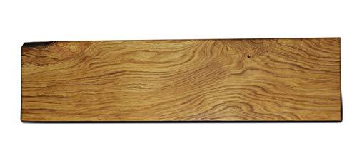 Schwebendes Wandregal - Eiche - 150 cm x 18 cm x 4 cm mit Verdeckten Wandträgern
