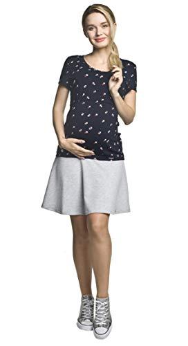 Torelle Damen Umstandsrock, Modell: NIFE, grau, M