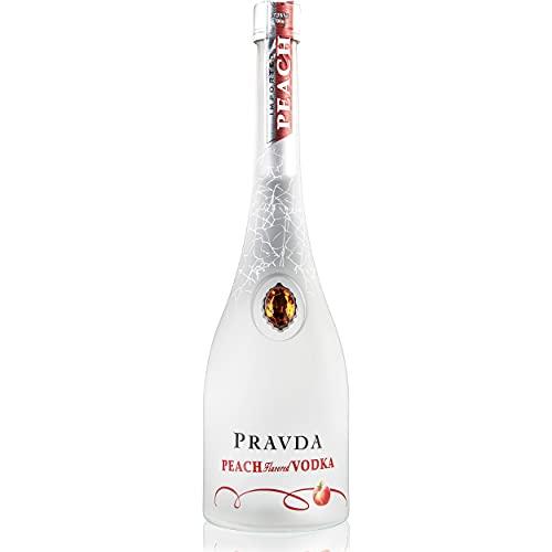 Pravda PEACH Flavored Vodka 37,5% - 700 ml