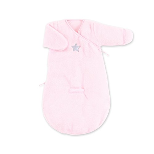 Bemini by Baby Boum 141STARY54SF Schlafsack Softy Stary Cristal, 0-3 Monate, rosa