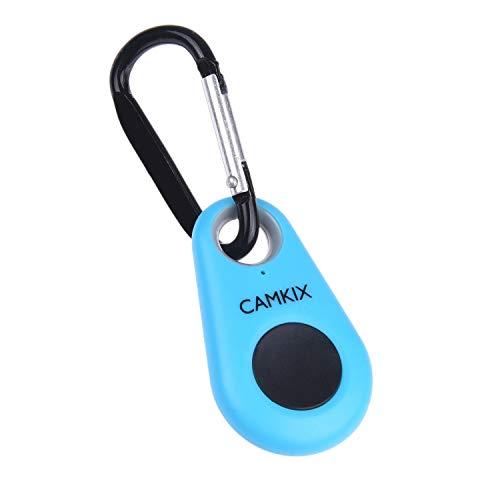 Control Remoto del Obturador de Cámara con Tecnología Inalámbrica Bluetooth CamKix – Cordón con Montaje de Anillo Desmontable – Mosquetón – Capturar imágenes/Video hasta 10m en iPhone/Android