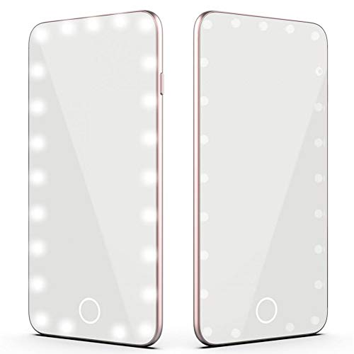 KUNHAN Make-up spiegel Usb Make-up Spiegel Intelligente Koud Licht Dimbare Spiegel Touch Screen Make-up Spiegel Led