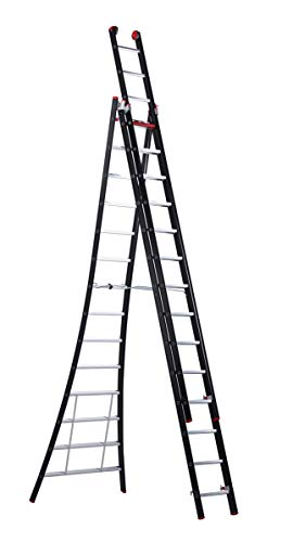 Outrex ladder NEVADA - multifunctionele ladder 3-delig, 3 x 14