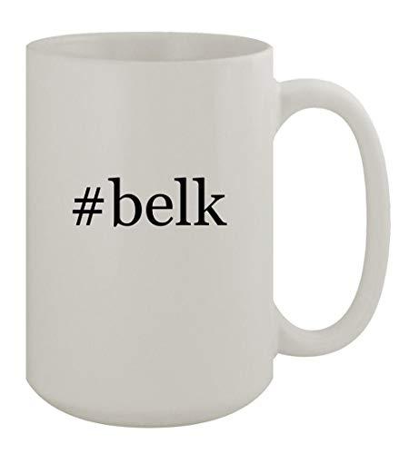 #belk - 15oz Ceramic White Coffee Mug, White