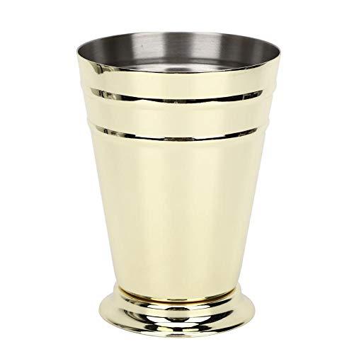Mojito Beker, 400ML RVS Shot Cup voor Mojito Mint Julep Gemengde Dranken Drinken Thuis Bar Drinken Mojito Meetgereedschap Goud