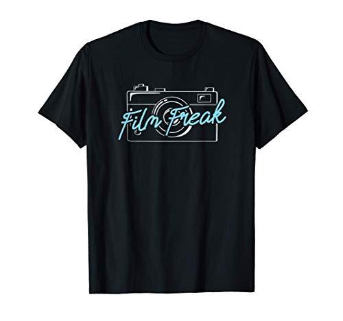 Cine Fotógrafo Cámara Película Freak Fotografía Camiseta