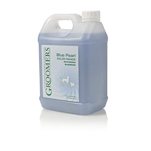 Groomers Blue Pearl Salon Grade Brightening Shampoo For White Dogs 2.5L