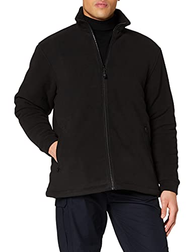 Regatta Men 'S Asgard II Quilted Long Sleeve Fleece Jacke XL schwarz