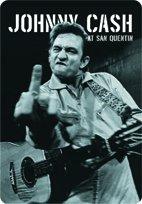 Unbekannt Johnny Cash Stinkefinger Blechschild Gewölbt 20x30cm VS2786
