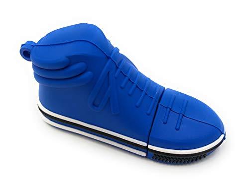Onlineworld2013 sneaker sport schoen turn schoen blauw Funny USB-stick 16 GB USB 2.0