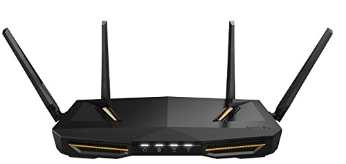 Zyxel Armor Z2 AC2600 MU-MIMO Wireless Cable Router per Gaming e Media con StreamBoost e Antenne Beamforming [NBG6817]