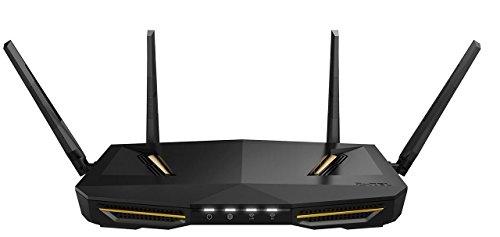 Zyxel Armor Z2 AC2600 MU-MIMO draadloze router voor games en media met StreamBoost en antennes met Beamforming-technologie [NBG6817]