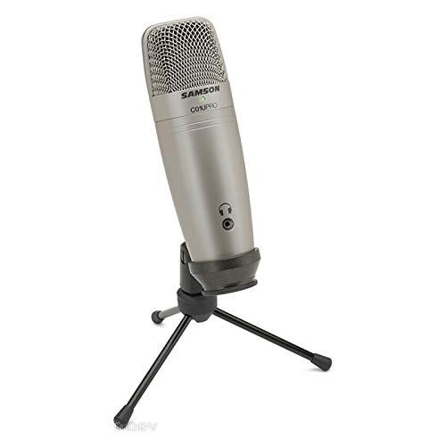 GYY Micrófono USB PC Pro y Samson SR850 Auriculares Monitoreo en Tiempo...