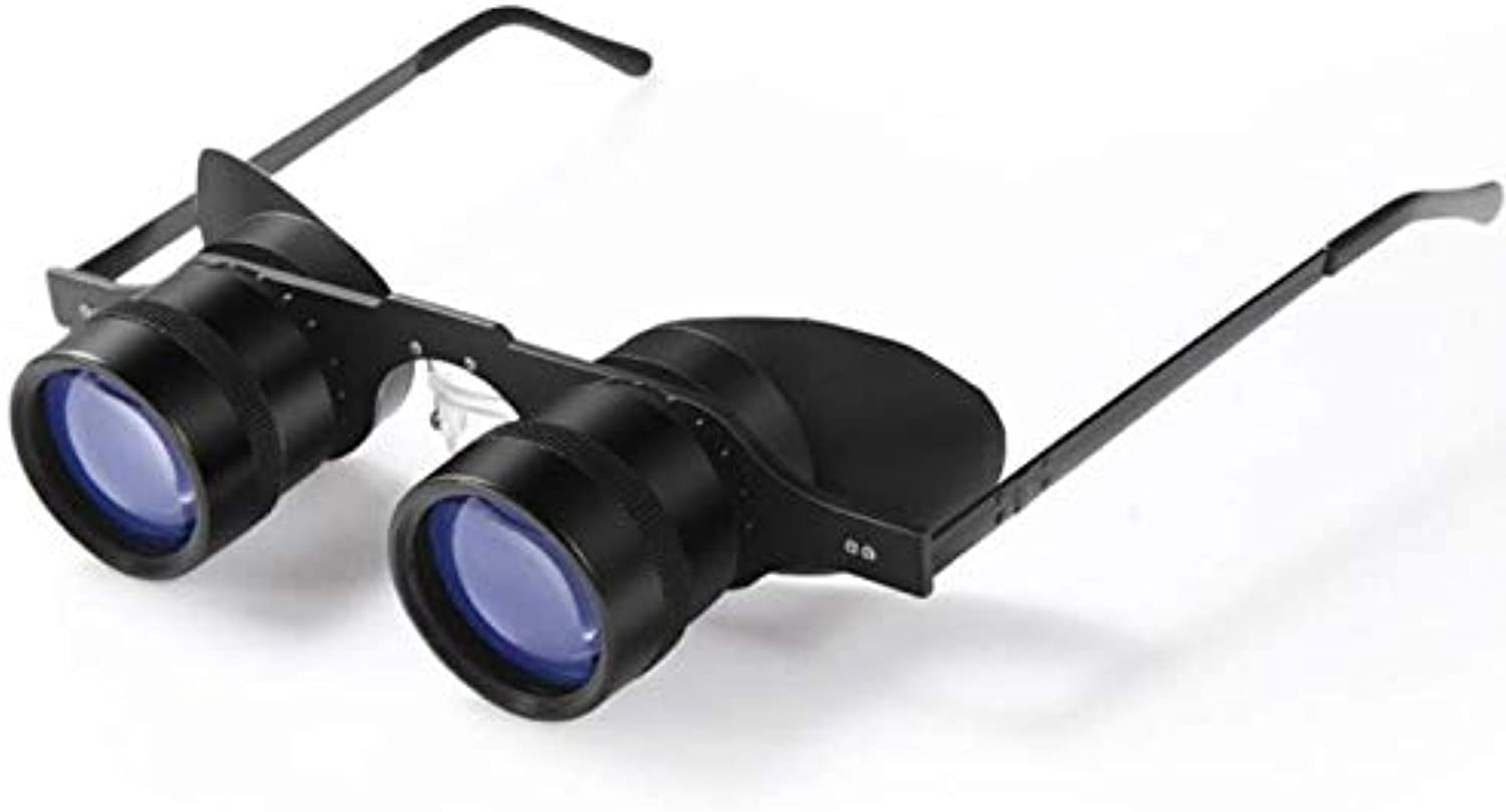 Binoculars,10X34 Fishing Telescope 10 Times Look Drifting Close to HD Special Fishing Mirror Light Glasses Type Glasses Magnifier