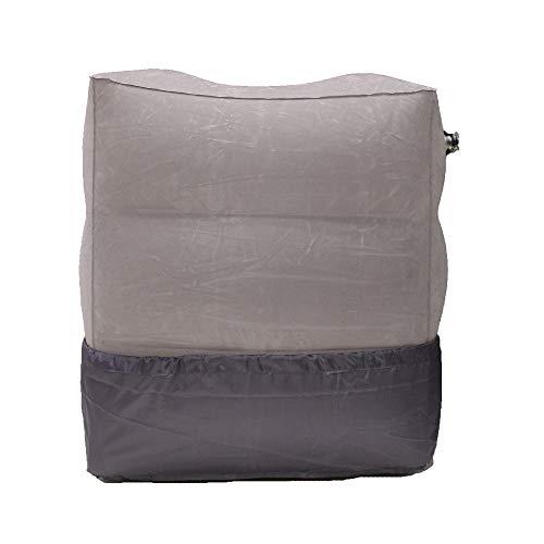 Cojín hinchable portátil de PVC Sonicee para descansar los pies, almohada para...