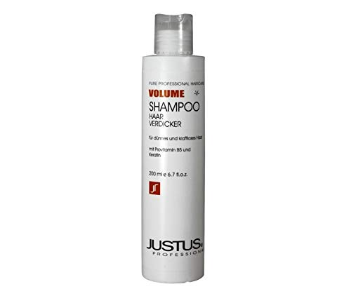 Justus Volumen Shampoo Haarverdicker 200ml