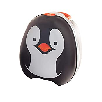My Carry Potty - Penguin Travel Potty Award-winning Portable Toddler Toilet Seat For Kids To Take Everywhere