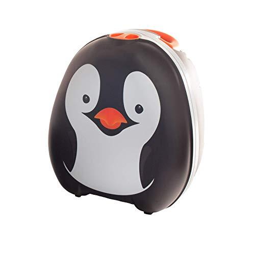 My Carry Potty - Pingüino, galardonado asiento de inodoro portátil para bebés, niños y niñas para llevar a cualquier lugar