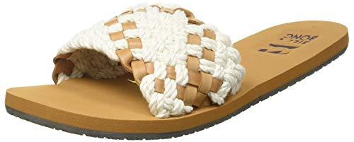 Billabong Women's Heeled Sandals, Beige, 5.5