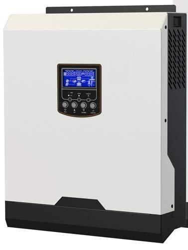 SHIJING 1KVA Inversor Solar 1000w 12V Inversor de Onda sinusoidal Pura 40A MPPT Inversor Fuera de la Red Inversor híbrido 220V Cargador de CA 20A