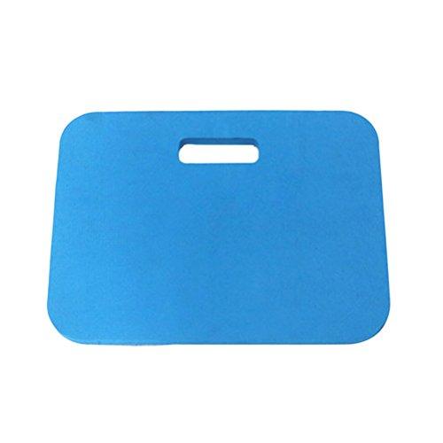 OUNONA Tapis de protection en mousse, idéal pour le jardinage/bébé bain/yoga/prières/exercice 46x26x4cm (bleu)