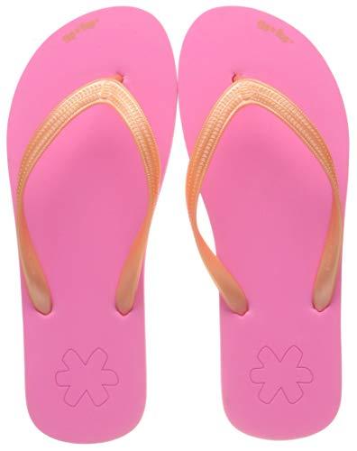 flip*flop Damen originals neo Flipflop, neon pink/lt Papaya, 39 EU