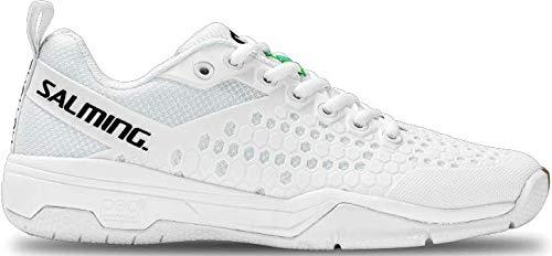Salming Damen Indoor Shoe Women White Eagle Hallenschuh weiß, 4 UK