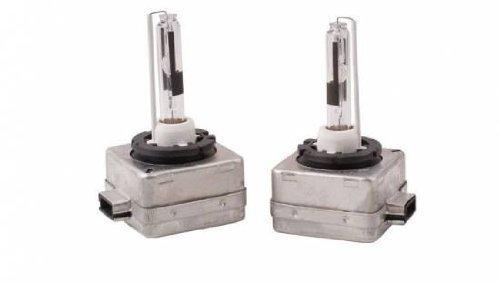 KFZTEILESCHNELLVERSAND24 - 2 lampadine D1S con bruciatore allo xeno, da 6000k (intensità luminosa originale del costruttore solitamente 4300k), da utilizzare come lampadine sostitutive HID