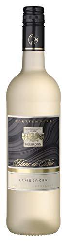 Württemberger Wein Heilbronner Lemberger QW Blanc de Noir halbtrocken (1 x 0.75 l)