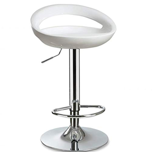AYU Bar Chair Plastic Kitchen Breakfast Chrome Steel Footrest Multi-Color Exterior Adjustable Outdoor Commercial Patio Office Optional Postmodern Sle High Bar Stools