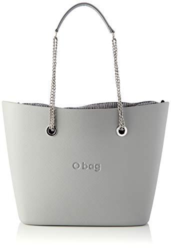 O bag Urban, Borsa da donna, Grigio chiaro, Unica