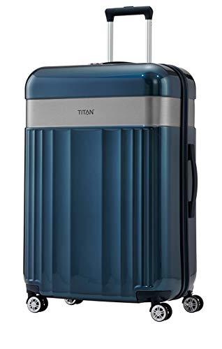 "TITAN Gepäckserie ""Spotlight Flash"": Edle Trolleys und Beautycases in knallbunten Trendfarben Koffer, 76 cm, 102 Liter, north sea"