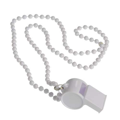 Why Choose US Toy KD29-11 Whistle Necklaces for Sports Team44; White - Pack of 12