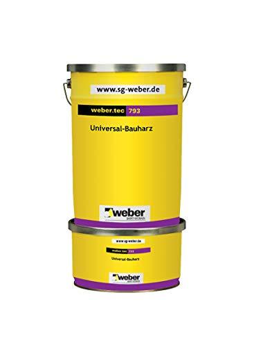 weber.tec 793 Universal-Bauharz 1 kg Bauharz Reaktionsharz Kleber Beschichtung Harzbeschichtung